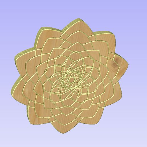 Untitled-6.jpg Download STL file Mandala 11 • 3D printer object, victor999