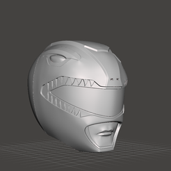 1.png Download free STL file power ranger helmet red • Template to 3D print, ponch3