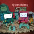 WhatsApp Image 2020-11-28 at 10.05.58 PM.jpeg Download STL file Bmo nintendo switch stand • 3D printer model, ana_paty_ss