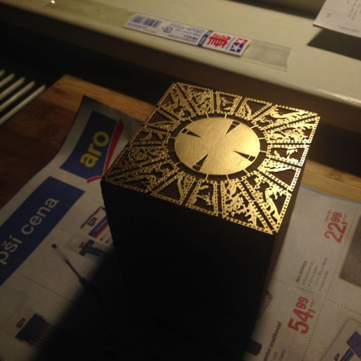 09.jpg Download free STL file The Lament Configuration (Hellraiser puzzle box) • 3D printable template, Mendelssohn