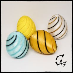 Easter-2021-filament_0.jpg Download free STL file Easter Eggs with filament • 3D printable object, c47