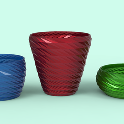 untitled.54.png Download STL file Plant Pots • 3D print design, seberdra