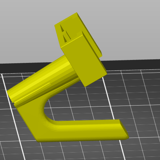 2021-01-16 15_10_20-PrusaSlicer-2.3.0 based on Slic3r.png Download free STL file Geocaching Fishing rod with option for action cam mount.  • 3D printing model, cultscnlson