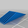 support_1mm_sloped.png Download free STL file Custom supports fins, different spacing, easy resizeable • 3D print object, Tse