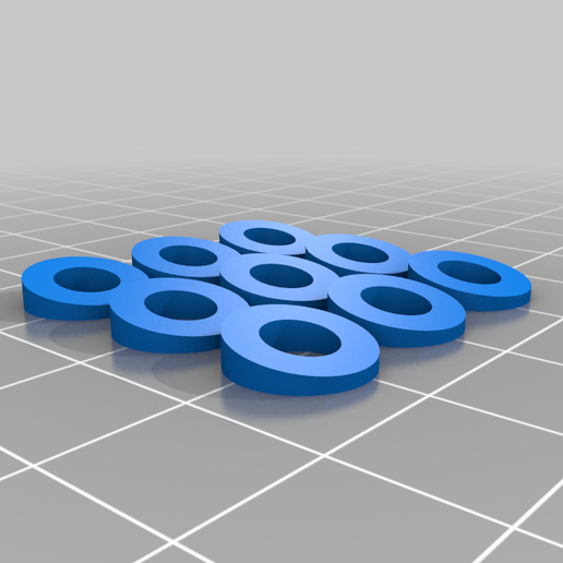 tilted_screw_pads_2.png Download free STL file Angled Longboard Riser Pads + Angled Screw Washers • Object to 3D print, Gophy