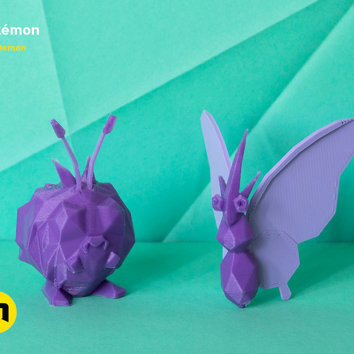 pokemon-low-poly051.png Download file Low Poly Pokemon Collection 151 • 3D printable object, 3D-mon