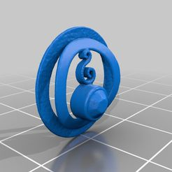 4ec2fb0d37f28f3e152729b87671e725.png Download free STL file Pendant for a necklace - 3D Scan • 3D printable template, openscan