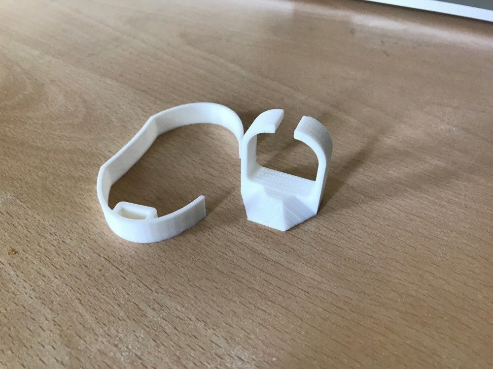 IMG_5457.JPG Download free STL file Easy-to-print Watch Stand • Design to 3D print, 3DexLtd
