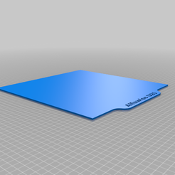 Alfawise_U20.png Download free STL file Alfawise U20 custom build plate • 3D printing template, 3dprintbeginnercom