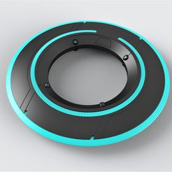 1.jpg Download STL file Identity disk from movie Tron Legacy • 3D print design, CosplayItemsRock