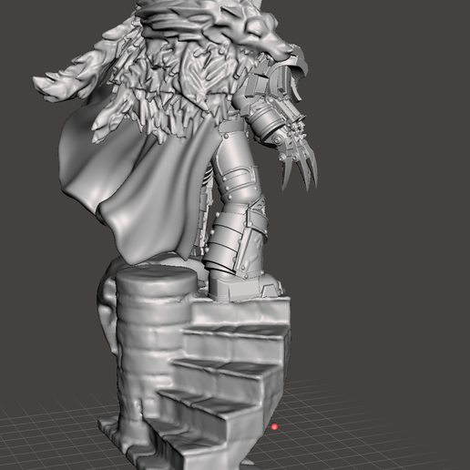 Horus 3.png Download free OBJ file Luna Warmaster - Base • 3D print template, SchrodyCosp