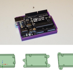 sl-bumper.png Download free STL file Arduino Bumper / Holder • 3D print template, SgaboLab