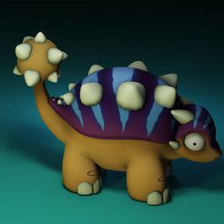dshapewaysgh.jpg Download free STL file Euoplocephalus from the makers of Dr Fluff • 3D printing design, ThinkerThing