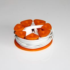 Cable circle headphones 1.jpg Download free STL file Cable Circle • 3D printing object, Robh
