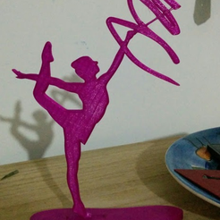 Capture d'écran 2016-12-23 à 10.31.51.png Download free STL file rhythmic gymnastics silhouette • 3D print model, cyrus
