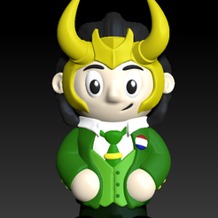 Screen-Shot-2021-07-08-at-8.52.45-PM.png Download free STL file Vote Loki • 3D printable template, MeaD-MaDe