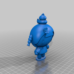 ching_Pucca_with_won_V1.png Download free STL file Ching with Won from the Pucca anime cartoon show • Model to 3D print, Jangie