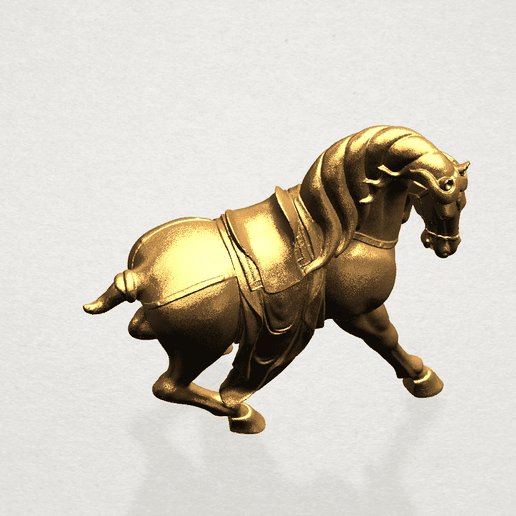 Horse III - B07.png Download free STL file Horse 03 • 3D printing template, GeorgesNikkei