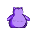 Snorlax-1.STL Download free STL file Snorlax / Pokemon / Ronflex / 卡比獸 / カビゴン • 3D printing object, 86Duino