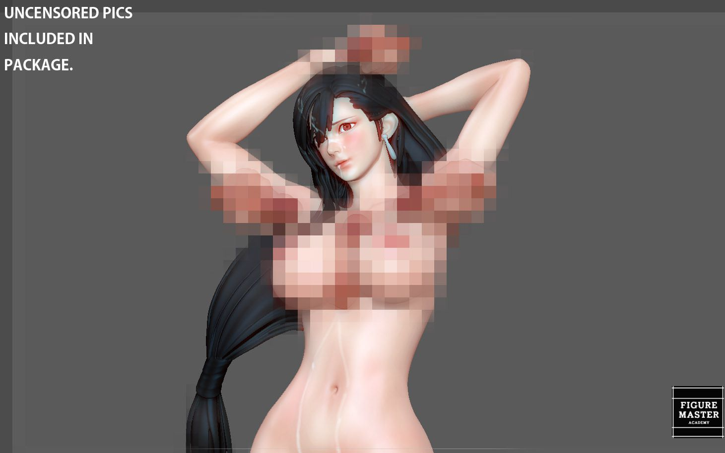 38.jpg Télécharger fichier STL TIFA SEXY NAUGHTY NAKED HENTAI VERSION FINAL FANTASY CHARACTER ANIME STATUE 3D MODEL • Objet pour impression 3D, figuremasteracademy