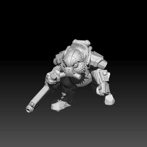 Preview4_5.png Download STL file The Shoal - Heavy Brawlers • 3D printable design, El_Mutanto