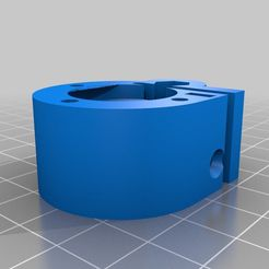 extruderV2.png Download free SCAD file Extrusora Kossel Mini 3mm con Rp 1/8th Bowden Push Fit • Object to 3D print, tobiaskornmayer