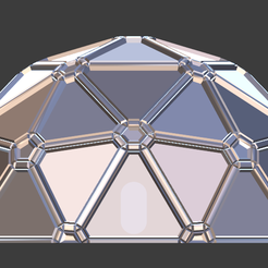 SciFi Dome-01.png Download free STL file Sci-Fi Dome • 3D printable design, LordInvoker