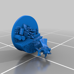 Angron_Base_2.png Download free OBJ file Angron, primarch of the World Eaters • 3D printer design, SchrodyCosp