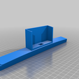 F150Cradle.png Download free STL file Universal Phone Cradle for F150 Console • 3D printer object, Rudager
