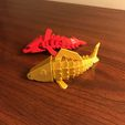 IMG_8749.jpg Download free STL file Articulated Fish Print in Place • 3D printable template, cooknadam