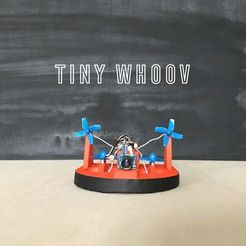 e370b3f980a6f7b03ee2237ab91043cc_preview_featured.jpg Download free STL file TINY WHOOV - SCRATCHBUILD (v1) • 3D printer object, badassdrones