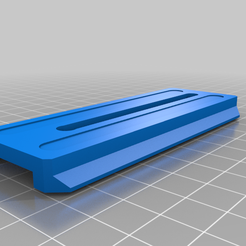 platina_sc.png Download free STL file Ronin SC mounting plate - Accesories • 3D printing model, NicoMiract