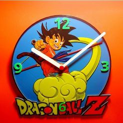 dc26b26b35ace5469af4f75471f8fa72_preview_featured.jpg Télécharger fichier STL gratuit Reloj Dragon Ball Z • Objet pour impression 3D, 3dlito