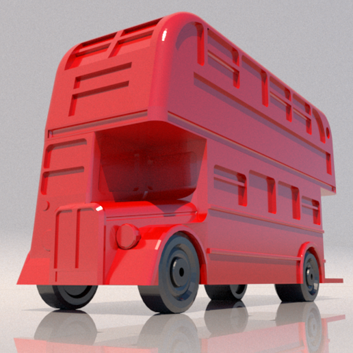 10.png Download STL file bus • 3D print template, 3Diego