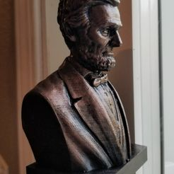 b5de29b36a74fdcc34f97770ef8c8e47_display_large.jpg Download free STL file Abraham Lincoln Bust • 3D printer model, cody5