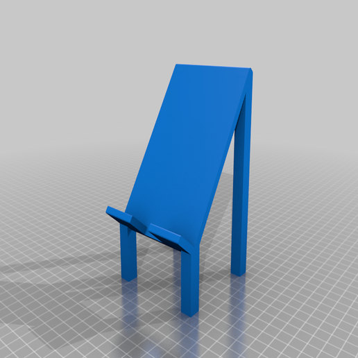 Phone_stand.png Download free STL file Another phone stand • 3D printer model, INFX_TryHard