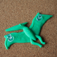 """Capture_d_e_cran_2016-07-22_a__10.44.29.png Download free STL file 3D printed """"pteranodon"""", to be used with the normal push pin. • 3D printable template, bs3"""