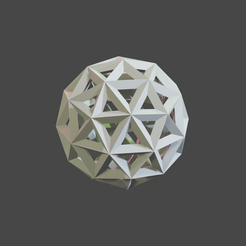 icosphere.png Download free STL file Ico Sphere • 3D printable object, maxthib