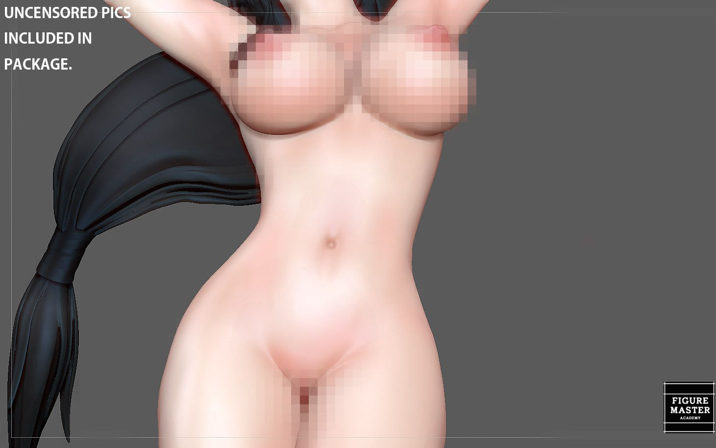 10.jpg Télécharger fichier STL TIFA SEXY NAUGHTY NAKED HENTAI VERSION FINAL FANTASY CHARACTER ANIME STATUE 3D MODEL • Objet pour impression 3D, figuremasteracademy