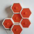 Capture d'écran 2018-01-26 à 15.06.00.png Download free STL file The HIVE - Module with wall mount back • Object to 3D print, atu
