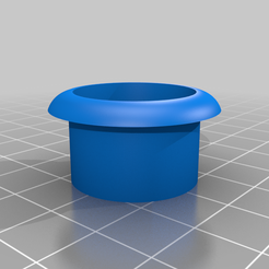 Alps_Frame.png Download free STL file Alps Switch Arcade Button • 3D printable model, xeromool