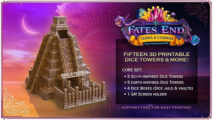 ProjectImage.jpg Download free STL file Mayan Temple Dice Tower • Model to 3D print, Kimbolt