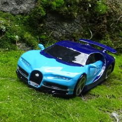 4.JPG Download STL file Bugatti chiron • 3D print object, 3Diego
