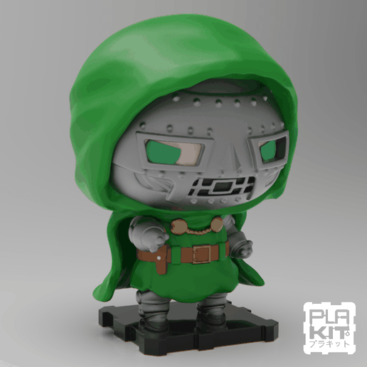 DDSQ (1).png Download free STL file Doctor DOOM • Template to 3D print, purakito