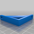 41d8fa66535894c2e3e303036b65e068.png Download free STL file External 2.5MM acrylic panel glass door holder slide up and off • Design to 3D print, JeenyusPete