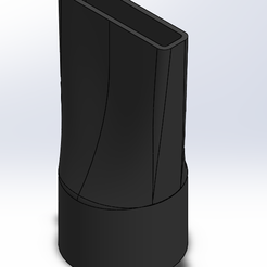 1.PNG Download free STL file Nozzle for vacuum cleaner • Object to 3D print, daniel260998