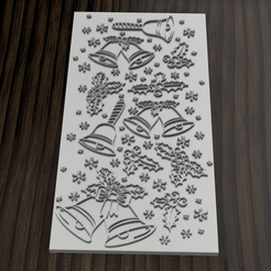 texturizador navidad 12.png Download STL file Texturizer // Marker Christmas motif • 3D printer template, 3dokinfo