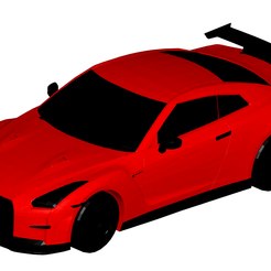t.png Download STL file Nissan GTR Nismo • Object to 3D print, dddmodel