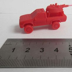 IMG_3285.JPG Download free STL file Pick up truck/Technical 1/100 scale • 3D printer object, jerrycon