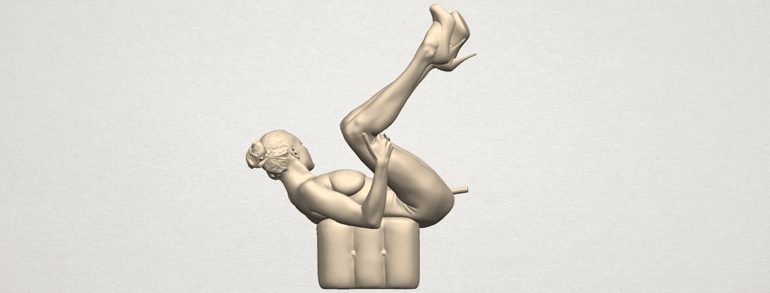 TDA0291 Naked Girl B08 A08.png Download free file Naked Girl B08 • Model to 3D print, GeorgesNikkei